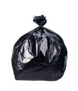 Sacs poubelle polyéthylène haute densité 50 litres 350 x 165 + 750 mm Paquet de 25 sacs