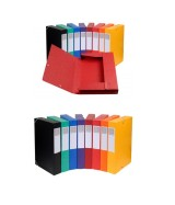 Boite de classement Cartobox Dos 60mm Carte lustrée A4