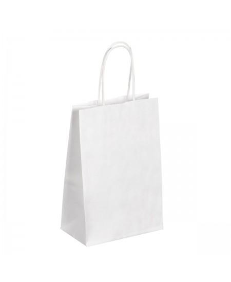 Sac Kraft Blanc à poignées torsadées dès 9.99€