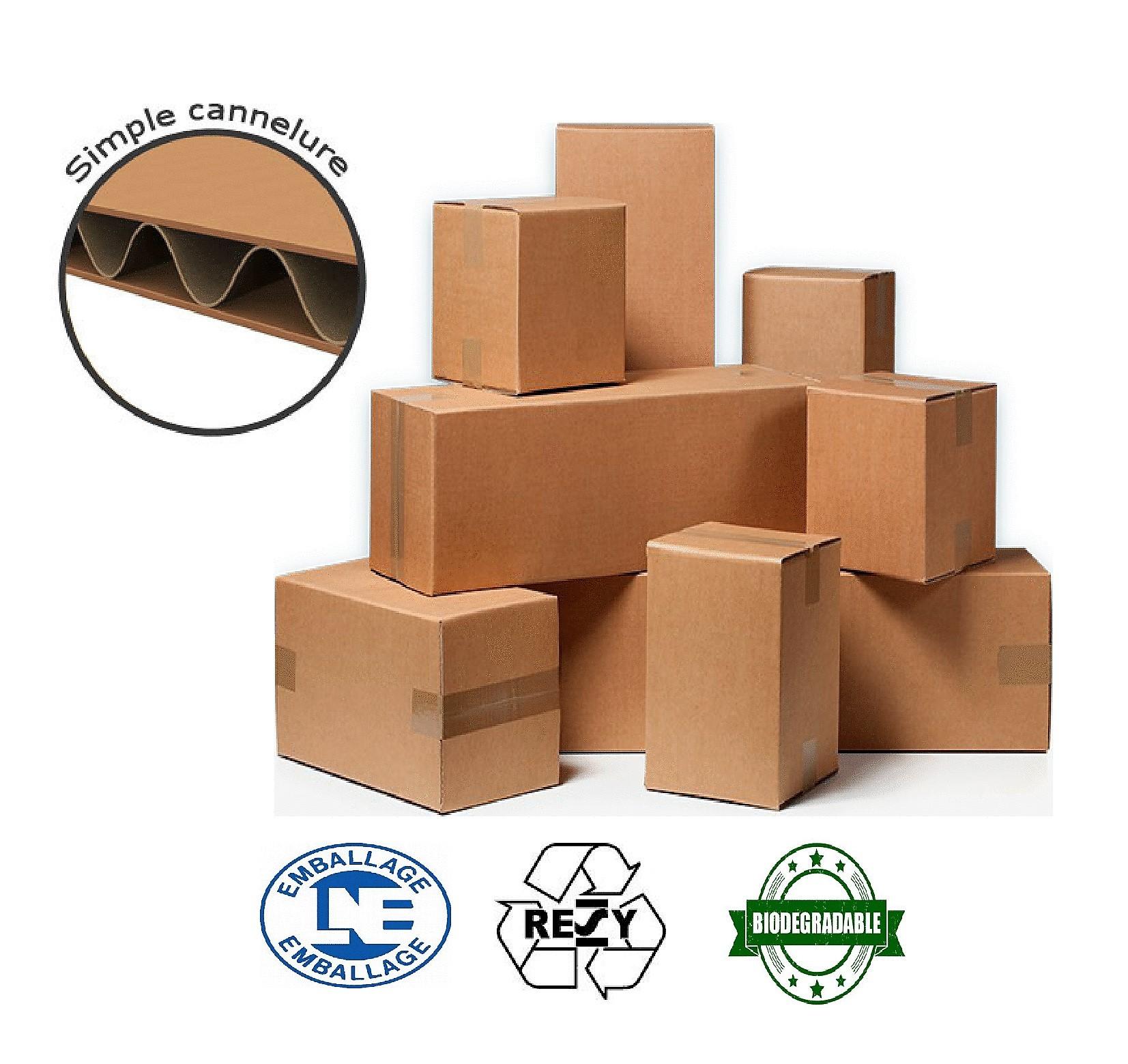 carton double cannelure pas cher great lot de caisses amricaines double cannelure longueur de. Black Bedroom Furniture Sets. Home Design Ideas