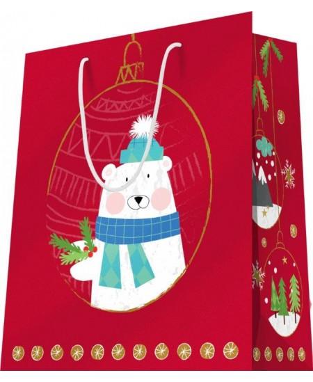 Sac luxe motifs Noël Ours dès 11.90€ le paquet de 20 sacs