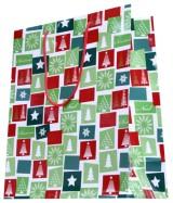 Sac luxe motifs Sapins de Noël dès 11.90€ le paquet de 20 sacs