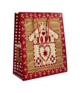 Sac luxe motifs Chalet/flocon dès 11.90€ le paquet de 20 sacs