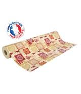 Papier cadeau beige motifs Noël dès 25.99€