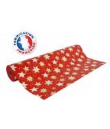 Papier cadeau Rouge motifs étoiles dès 24.99€