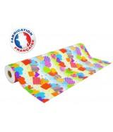 Papier cadeau multicolore motifs festifs dès 24.99€
