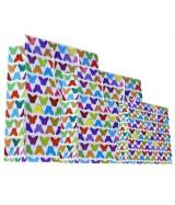Sac luxe Blanc brillant motifs papillons multicolores dès 15.90€