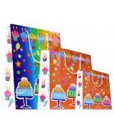 Sac luxe brillant Multicolore motifs anniversaire dès 15.90€