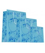 Sac luxe brillant Bleu motif Dinosaure dès 15.90€