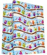 Sac luxe motifs Chouettes multicolores dès 11.90€ le paquet de 20 sacs