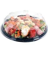 Assiette ronde et couvercle dôme dès 106€ le colis