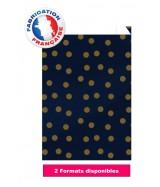 Pochette cadeau motifs pois, Bleu et Or dès 32.97€