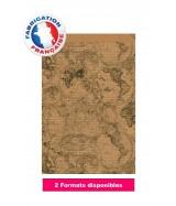 Pochette cadeau motif carte du monde dès 31.49€