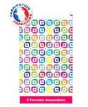 Pochette cadeau à motifs multicolores dès 10.35€
