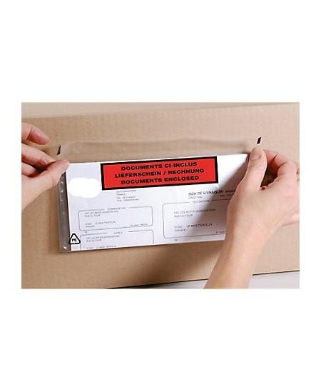 Pochette porte-documents renforcée imprimée en 3 langues dès 44.76€ le colis