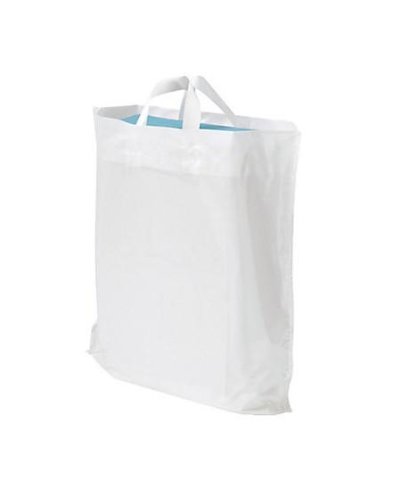 Sac Plastique Blanc à poignées souples dès 45.07 € le colis