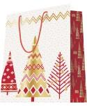 Sac luxe motifs arbres de Noël dès 18.10€ le paquet de 20 sacs