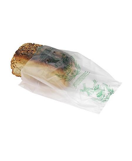 Sac à pain biodégradable liassé macro-perforé