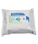 LINGETTES MULTI-USAGES Sanitizer : action virucide,  levuricide, bactéricide, paquet de 30 lingettes - vendu par carton de 48
