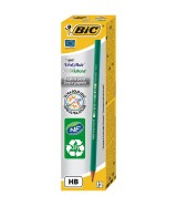 Crayon papier Graphite BIC HB ECO EVOLUTION 650 - Boîte 12 crayons