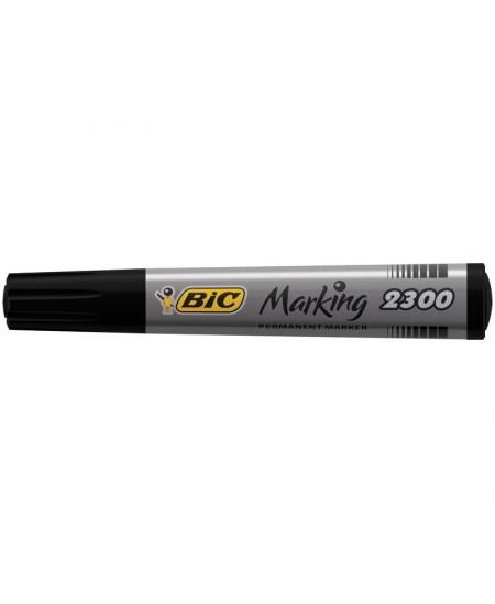 MARQUEUR PERMANENT BIC MARKING 2300 Biseau-Noir