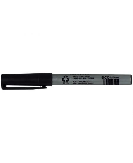 MARQUEUR PERMANENT BIC MARKING POCKET 1445 - Ogive moyenne-Noir - Boîte 12 marqueurs