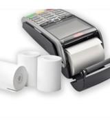 Bobines papier thermique pour Terminal Carte Bancaire sans bisphénol A Blanc l 57 x ø 40 mm x L 18 m Paquet 20 rouleaux