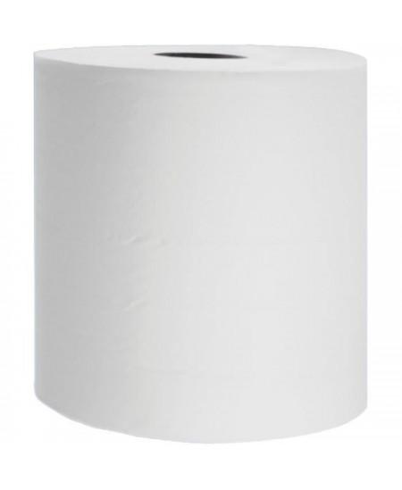 Essuie-mains Blanc en Bobine 400 formats 30 cm Lot 6 bobines