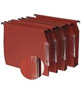 Dossiers suspendus pour armoire avec bande d'indexation grossissante Paquet de 25