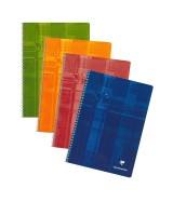 Clairefontaine Cahier Metric Spirale 100 pages 21 x 29.7 cm petits carreaux 5x5