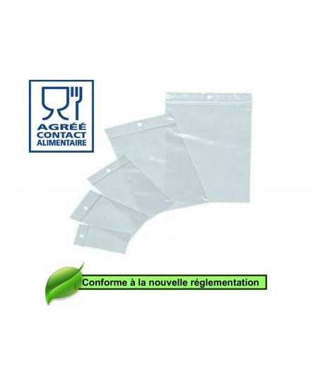 Sachet transparent fermeture zip dès 1.98€