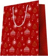 Sac luxe motifs boules de Noël dès 18.10€ le paquet de 20 sacs