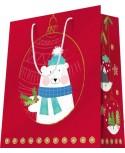 Sac luxe motifs Noël Ours dès 18.10€ le paquet de 20 sacs