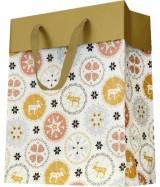 Sac luxe motifs Noël dès 29.70€ le paquet de 20 sacs