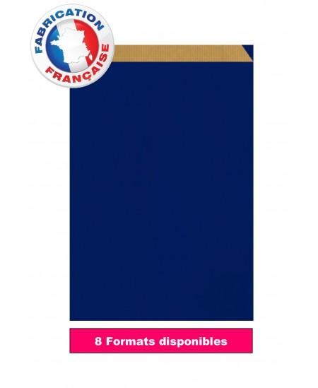 Pochette cadeau Bleu vergé dès 8.05€
