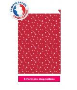 Pochette cadeau rouge et blanc dès 10.35€