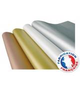 Papier de soie métallisé Rame de 200 feuilles 50X75CM