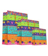 Sac luxe brillant Multicolore à motifs romantiques dès 18.10€