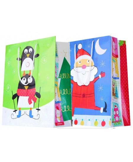 Sac luxe Noël multicolore dès 18.10€ le paquet de 20 sacs
