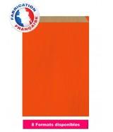 Pochette cadeau Orange foncé vergé dès 8.05€