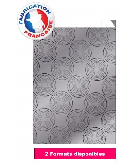 Pochette cadeau métallisée motifs ronds dès 28.90€