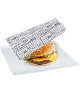 Papier kraft blanc special snacking