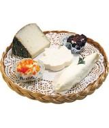Plateau fromages imitation rotin dès 109.50€ le colis