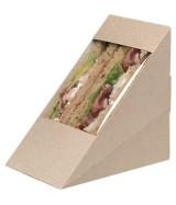 Boîte sandwich triangle kraft dès 79.90€ le colis