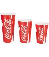 Gobelet carton impression Coca-Cola® dès 79.60€ le colis