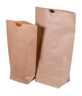 Sac écorné kraft brun renforcé 2 feuilles dès 32.76€ le colis