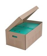 Caisse multi-usages imprimée à poignées