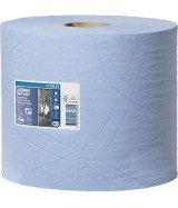 Ouate Tork® PLUS bleue. Colis de 2 bobines