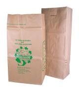 Sac à déchets papier kraft dès 22.30€ le colis.