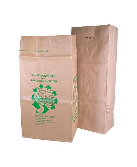 Sac à déchets papier kraft dès 23.90€ le colis.